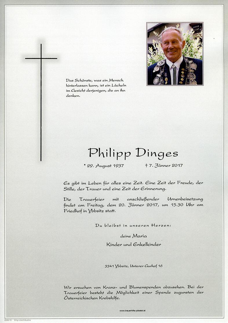 Parte Philipp Dinges