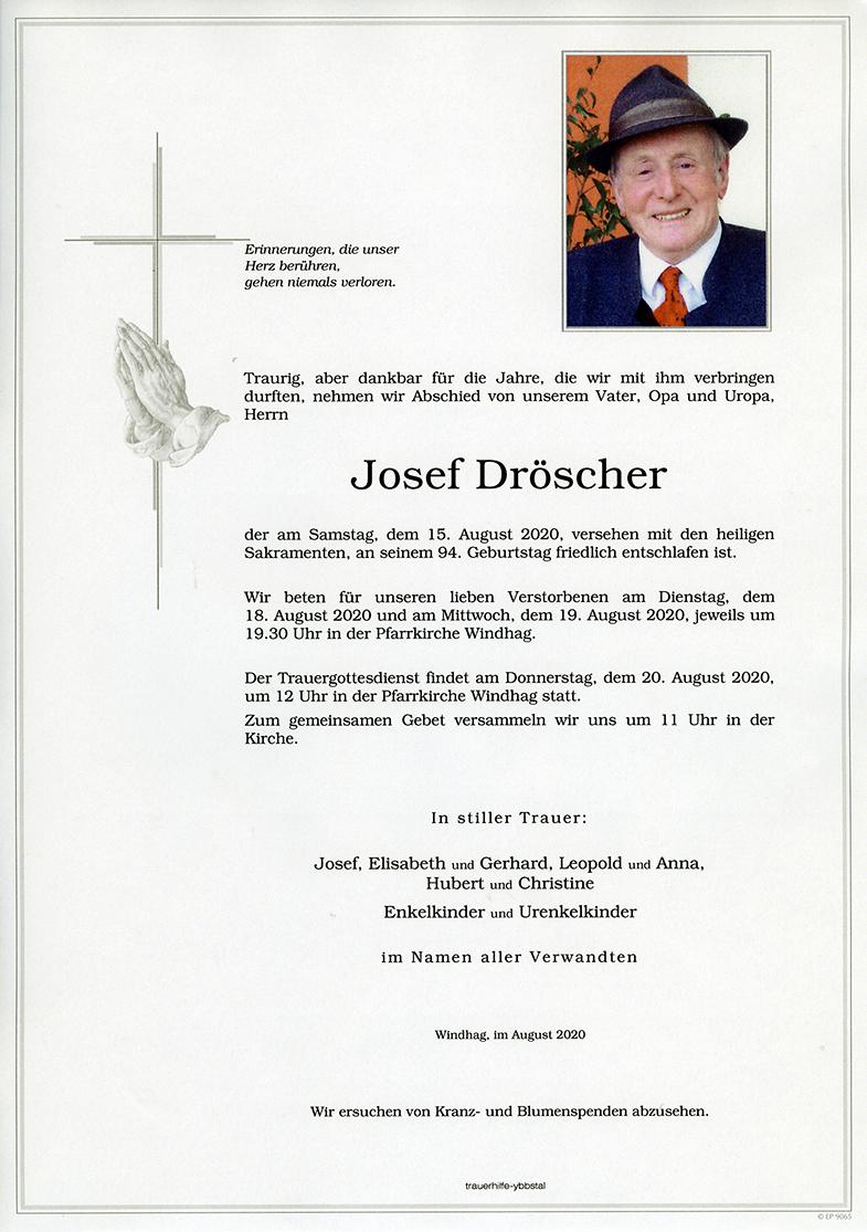 Parte Josef Dröscher