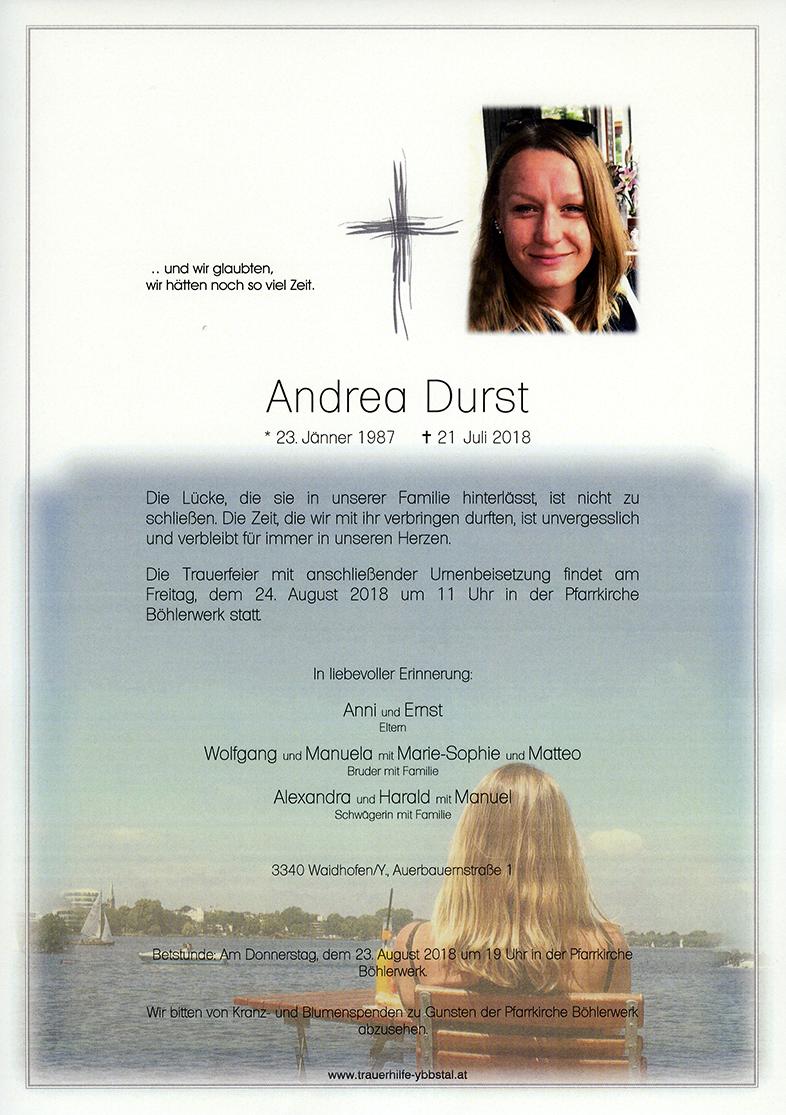 Parte Andrea Durst