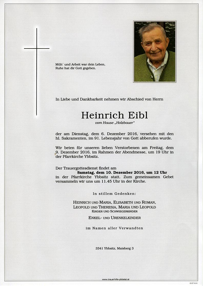 Parte Heinrich Eibl