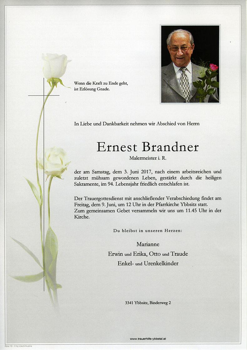 Parte Ernest Brandner