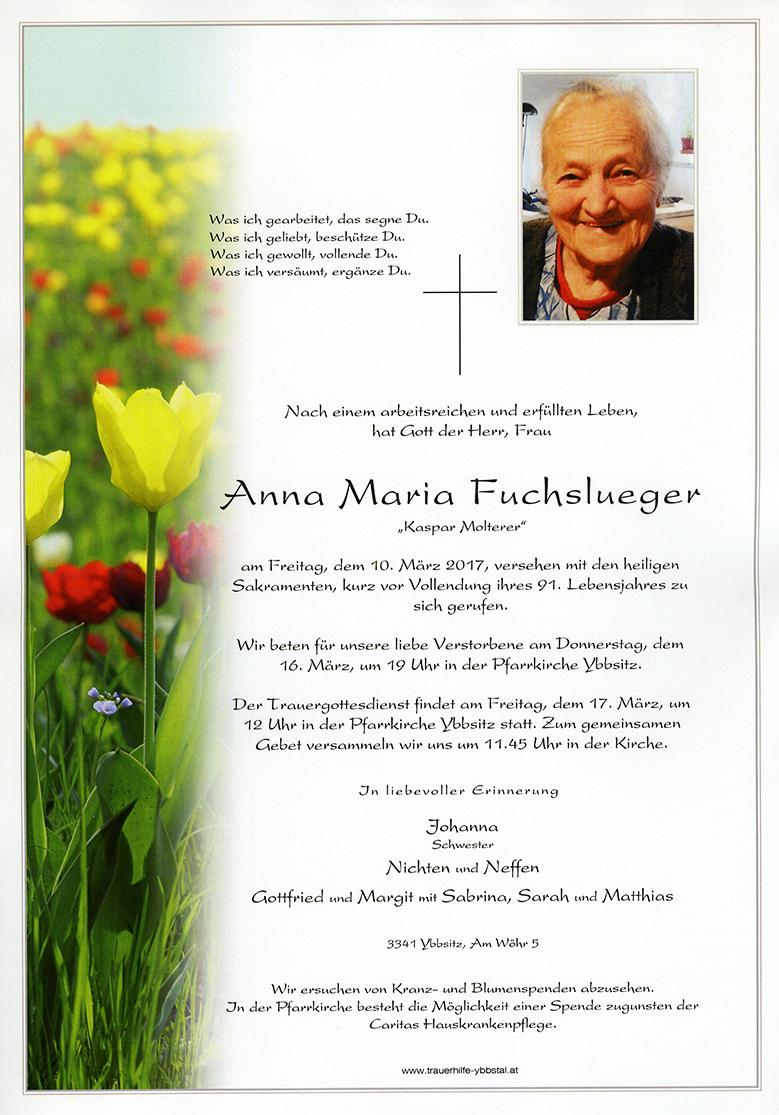 Parte Anna Maria Fuchslueger