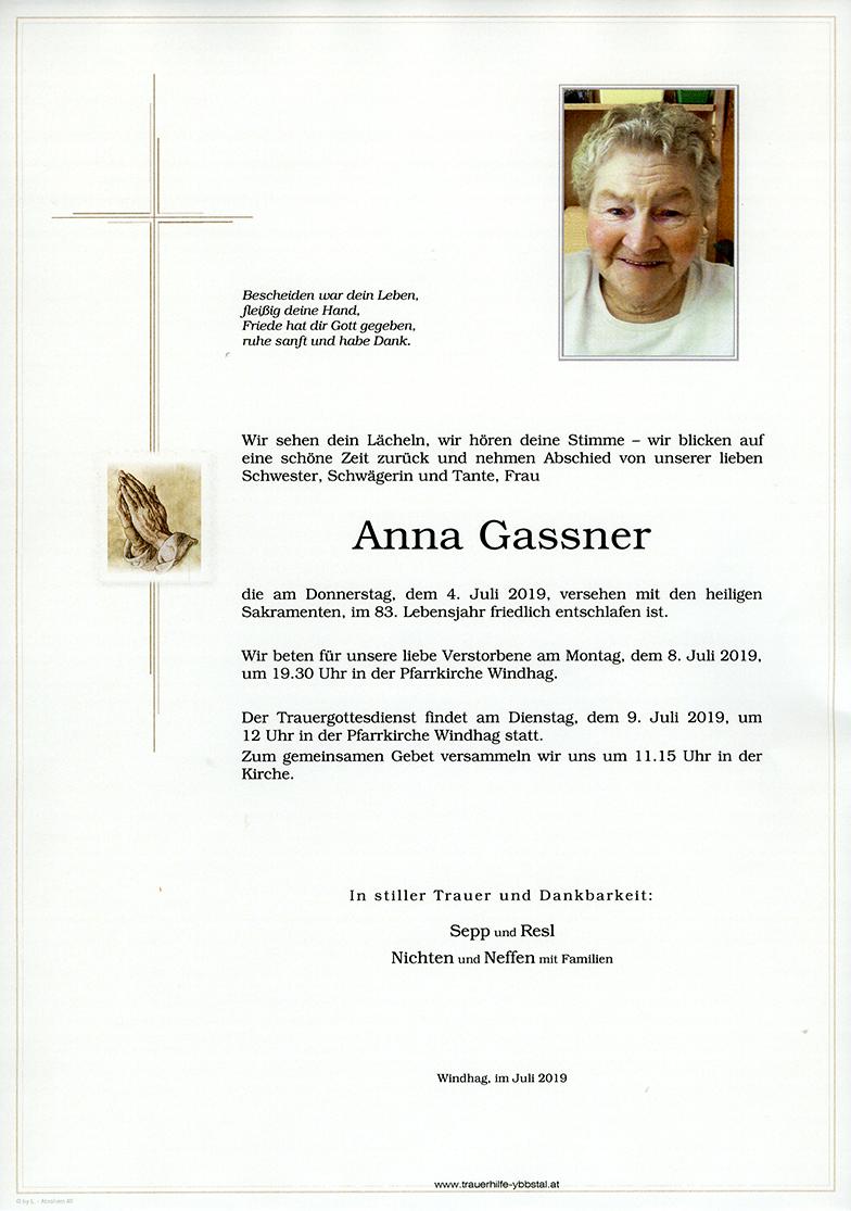 Parte Anna Gassner