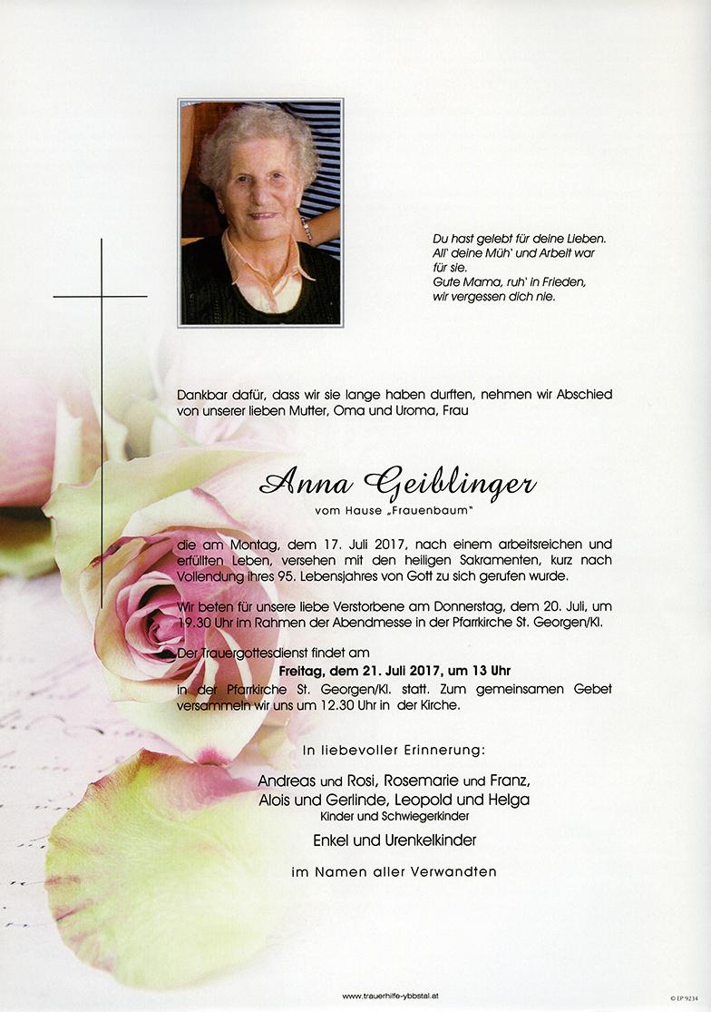Parte Anna Geiblinger