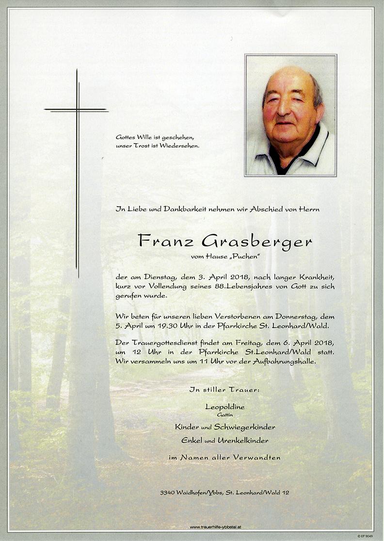 Parte Franz Grasberger