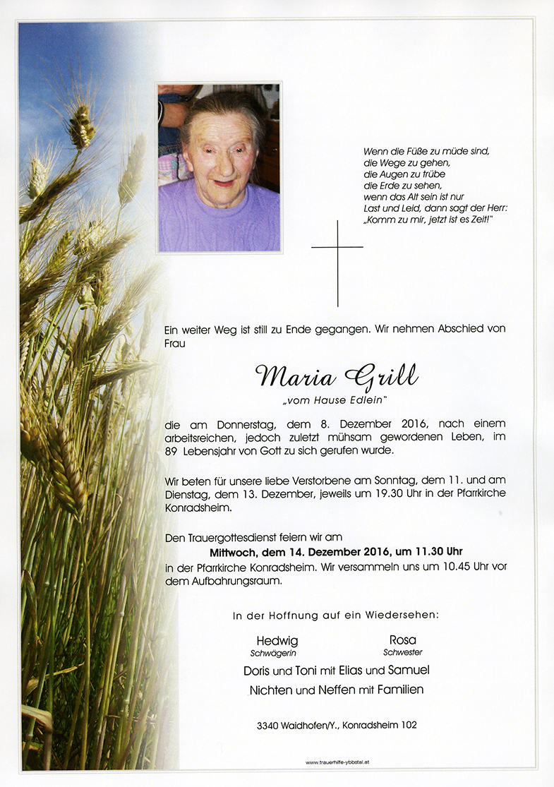 Parte Maria Grill