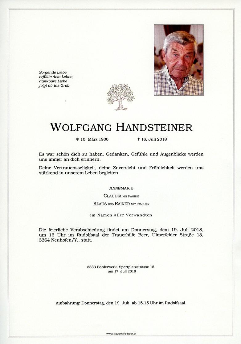 Parte Wolfgang Handsteiner