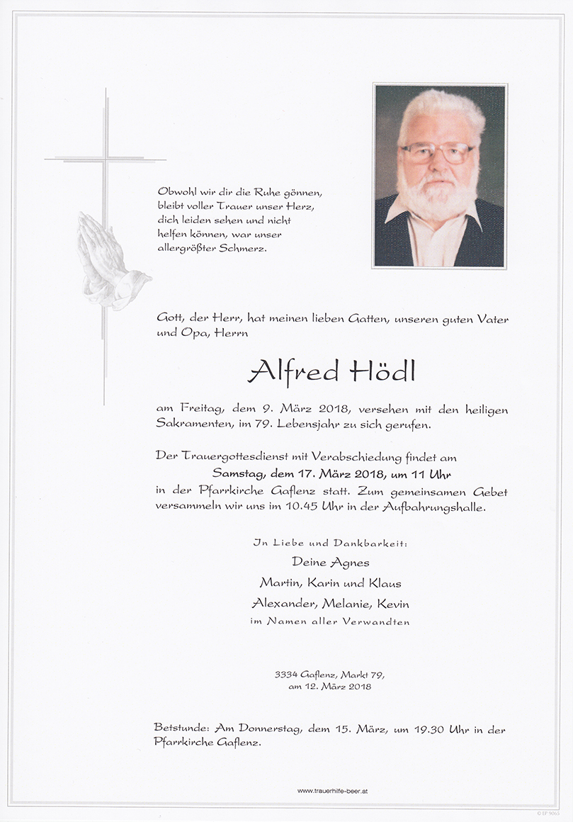 Parte Alfred Hödl