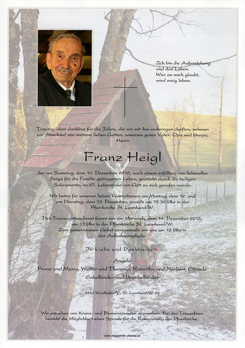 Parte Franz Heigl