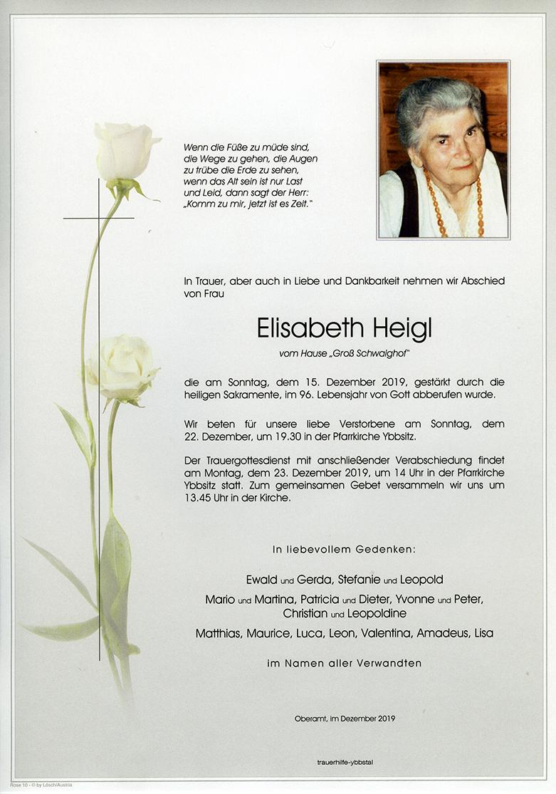 Parte Elisabeth Heigl