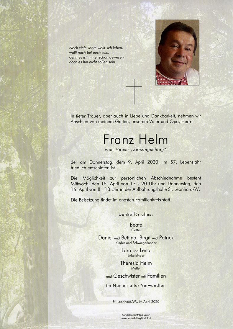 Parte Franz Helm