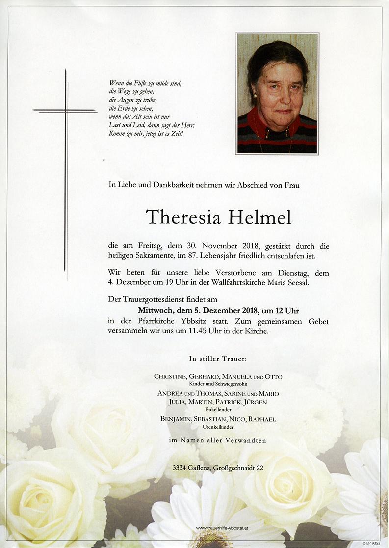 Parte Theresia Helmel