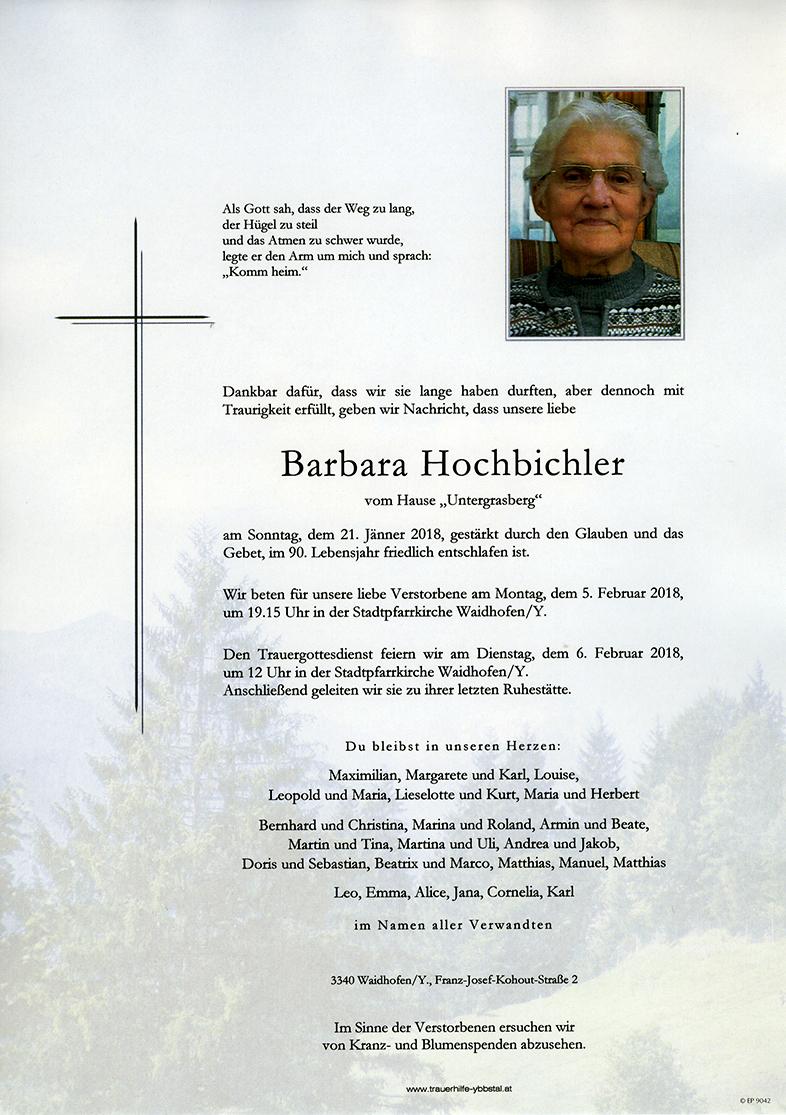 Parte Barbara Hochbichler