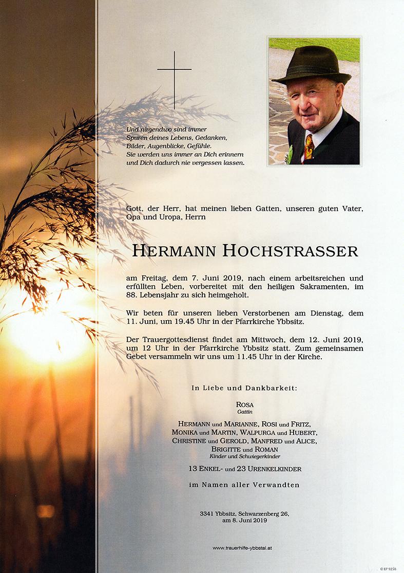 Parte Hermann Hochstrasser