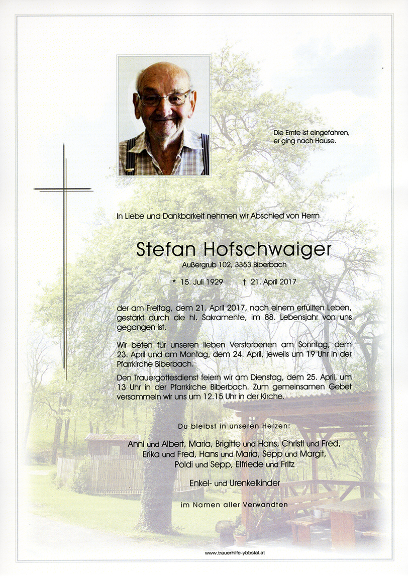 Parte Stefan Hofschwaiger