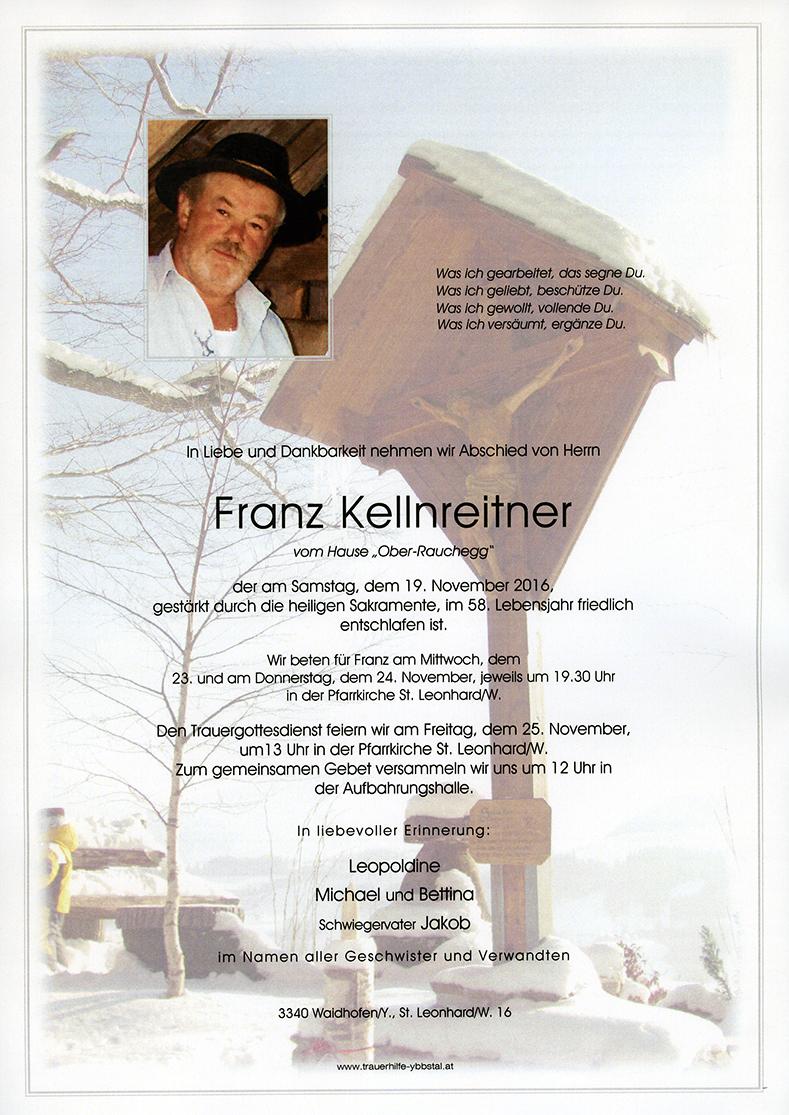 Parte Franz Kellnreitner