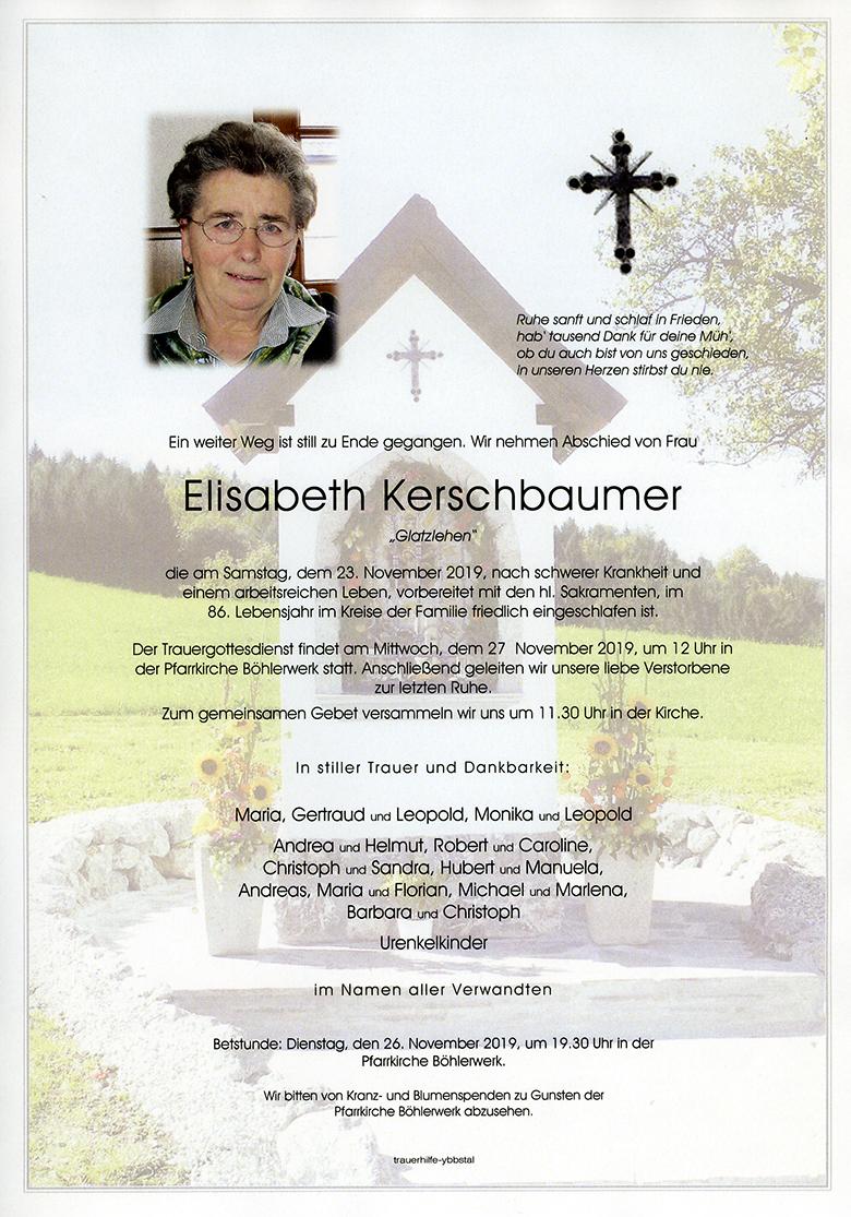 Parte Elisabeth Kerschbaumer