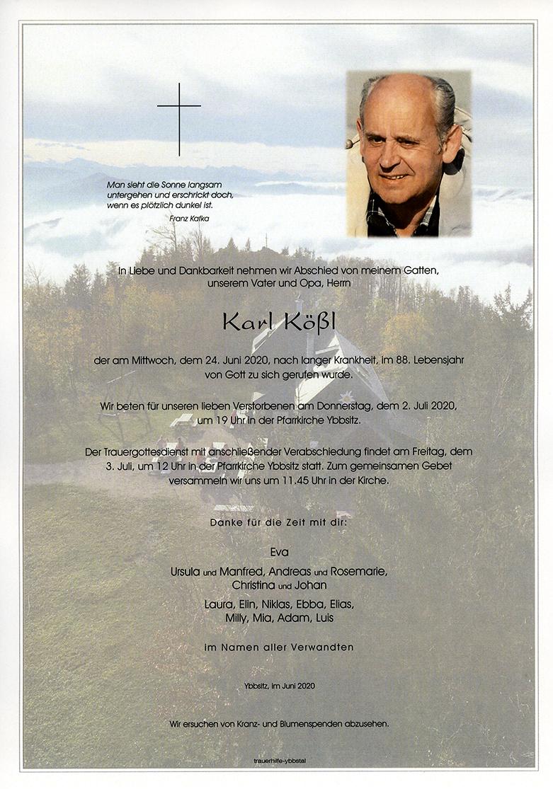 Parte Karl Kößl