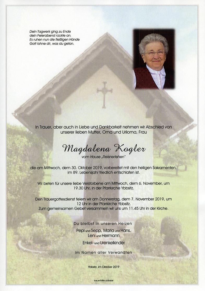 Parte Magdalena Kogler