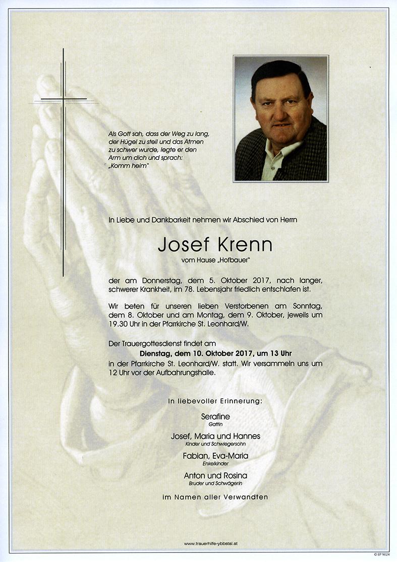 Parte Josef Krenn