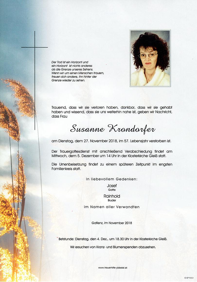 Parte Susanne Krondorfer