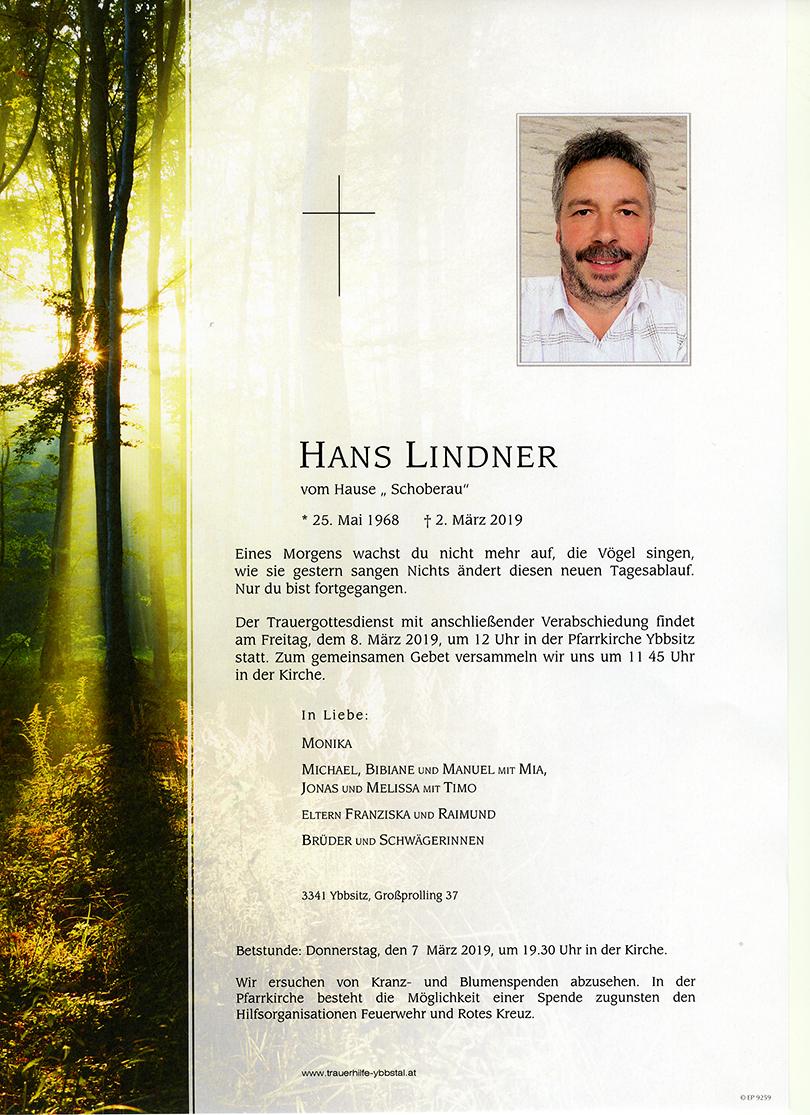 Parte Johann Lindner