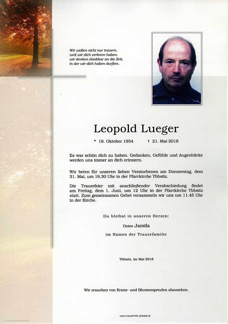 Parte Leopold Lueger