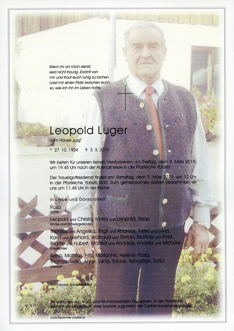 Parte Leopold Luger