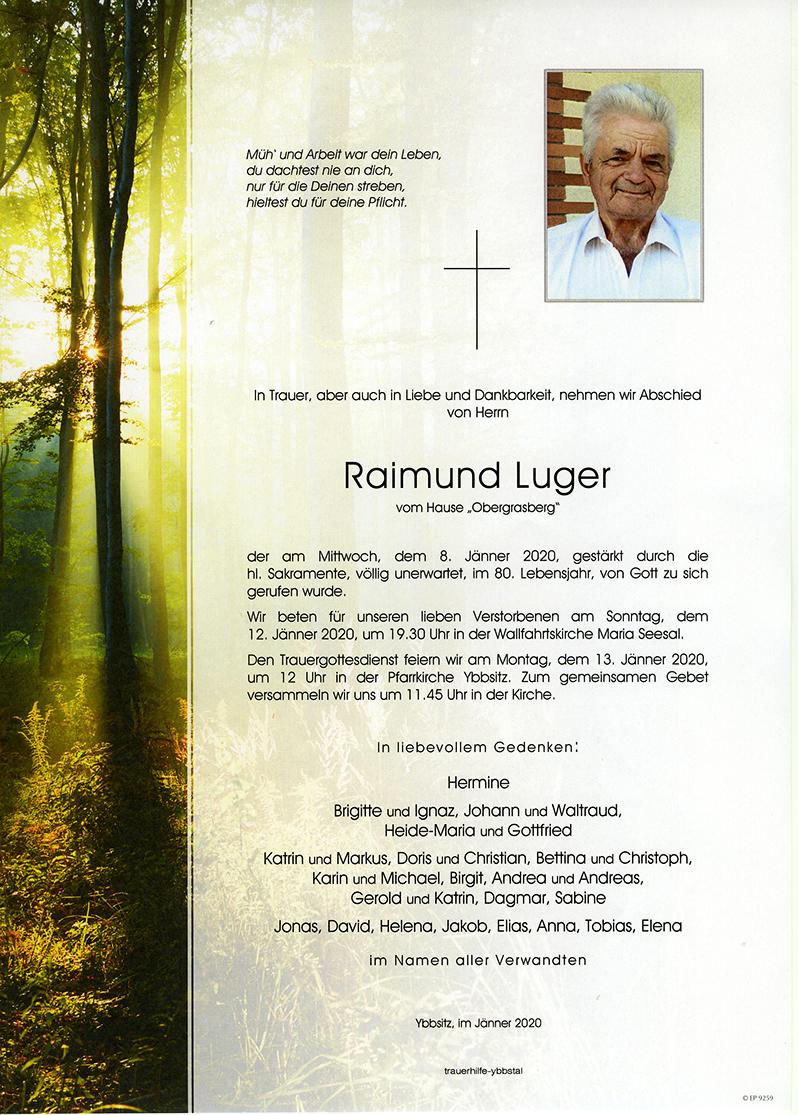 Parte Raimund Luger