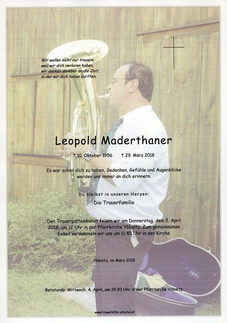 Parte Leopold Maderthaner