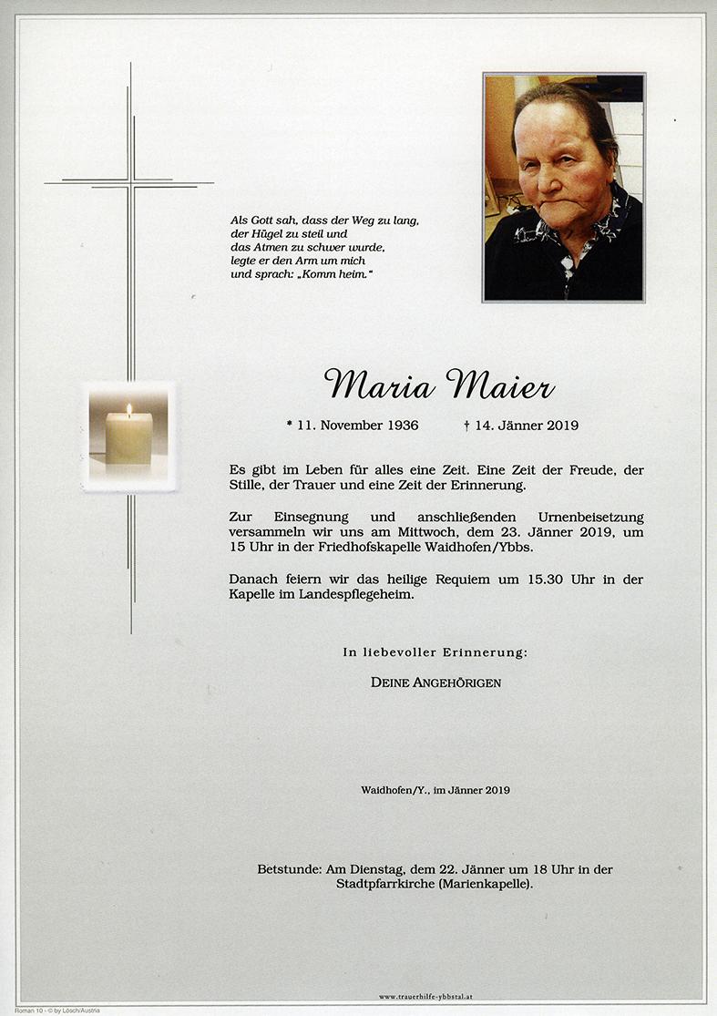 Parte Maria Maier