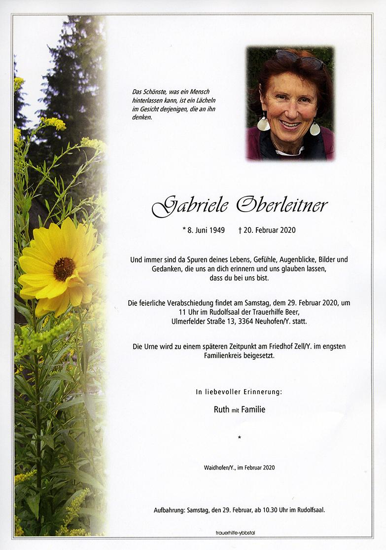 Parte Gabriele Oberleitner