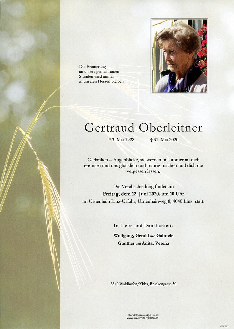 Parte Gertraud Oberleitner