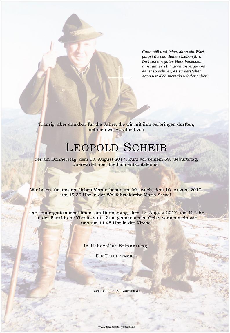 Parte Leopold Scheib