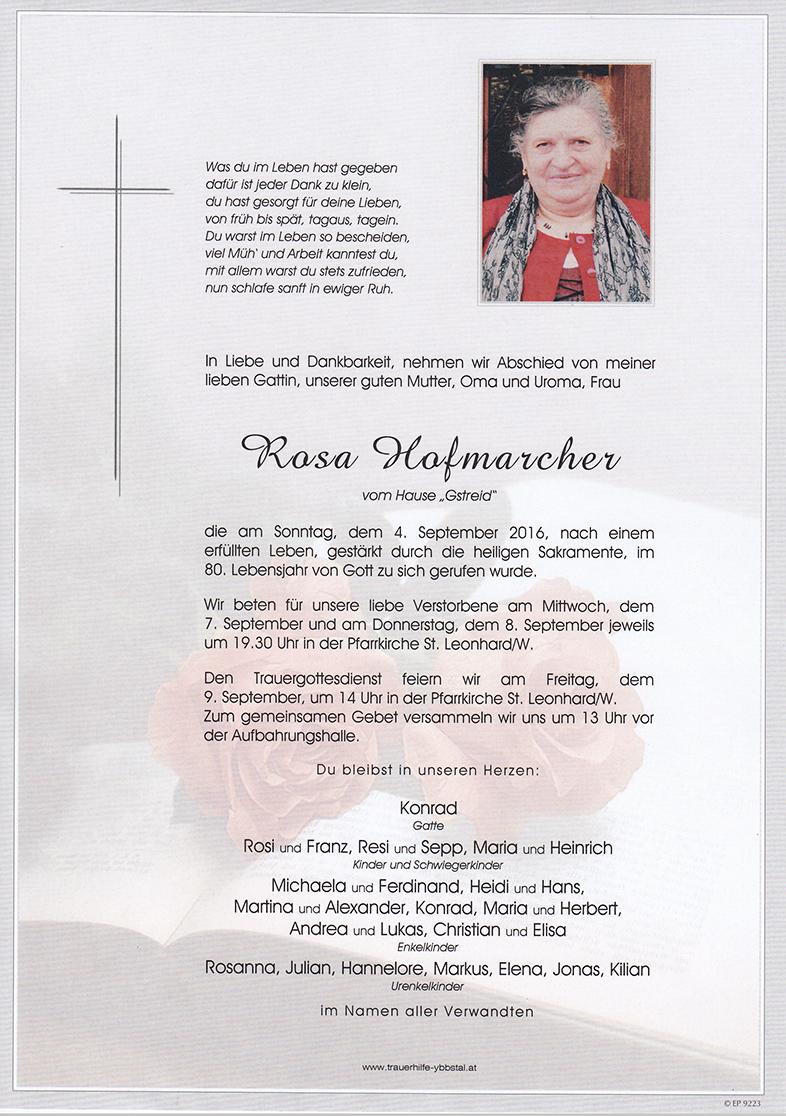 Parte Rosa Hofmarcher