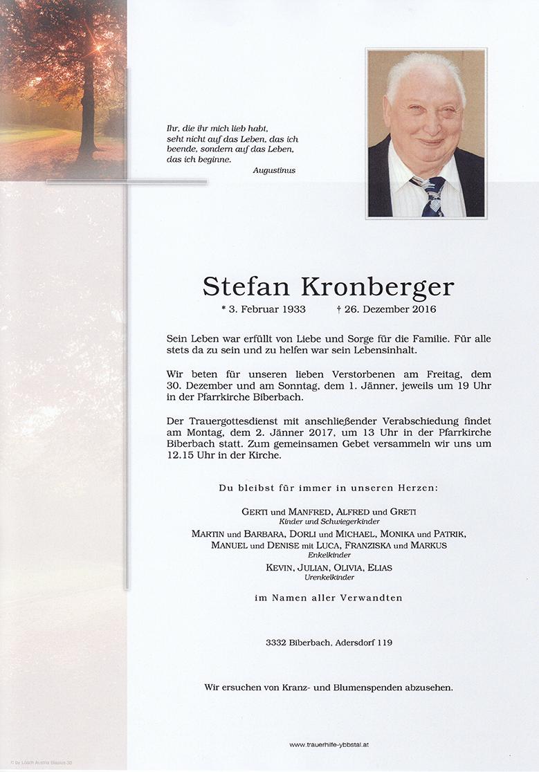 Parte Stefan Kronberger