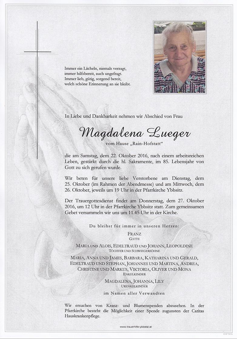Parte Magdalena Lueger