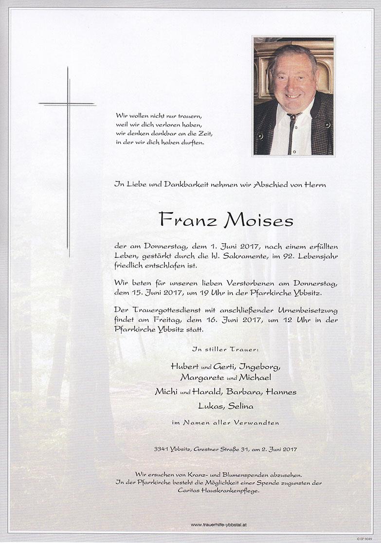 Parte Franz Moises