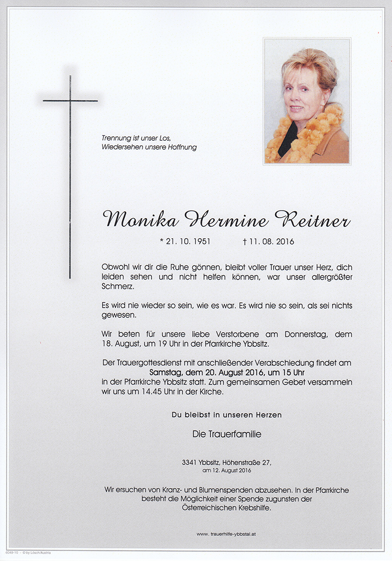 Parte Monika Hermine Reitner