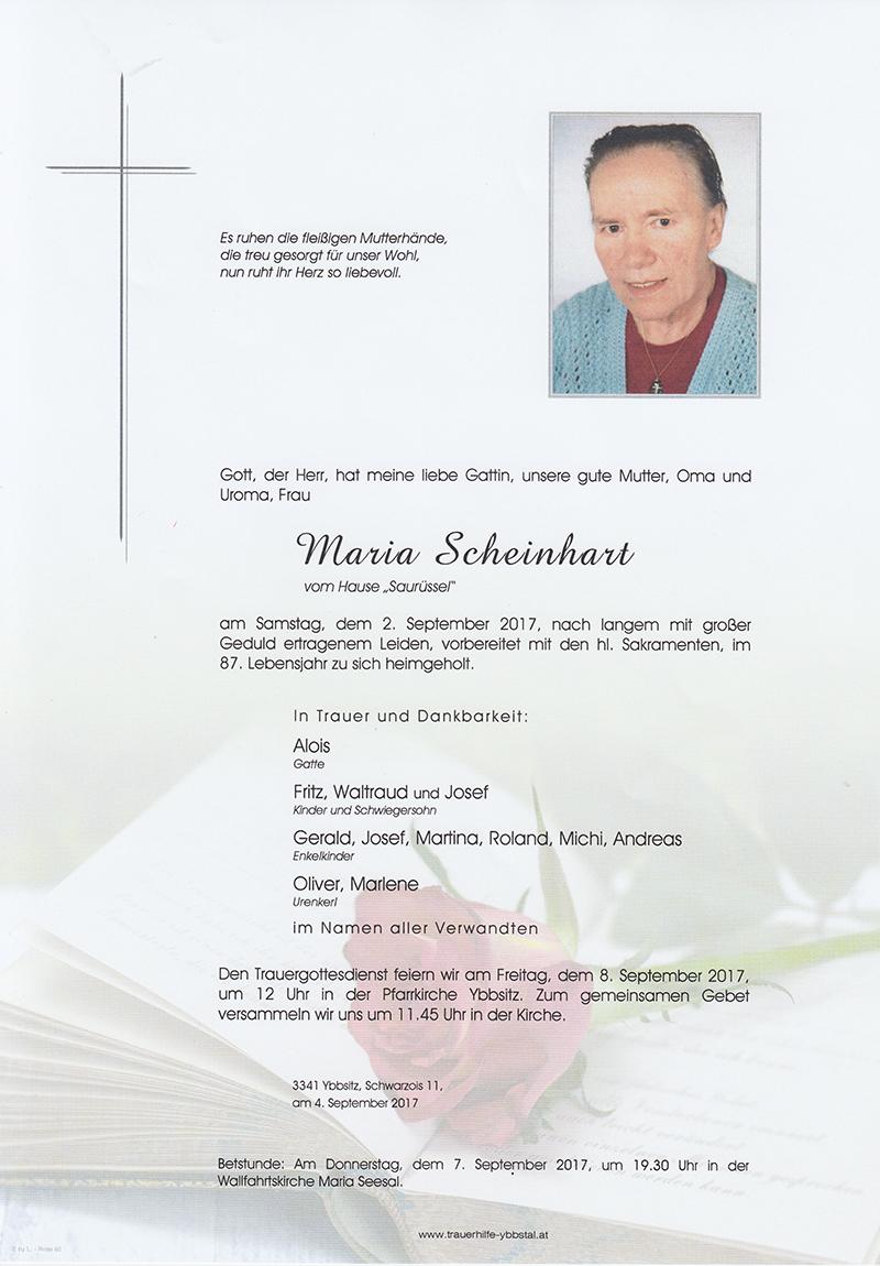 Parte Maria Scheinhart