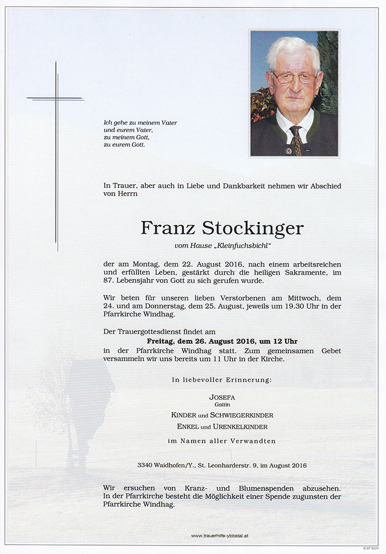 Parte Franz Stockinger