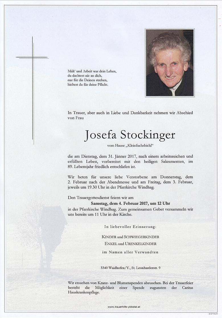 Parte Josefa Stockinger