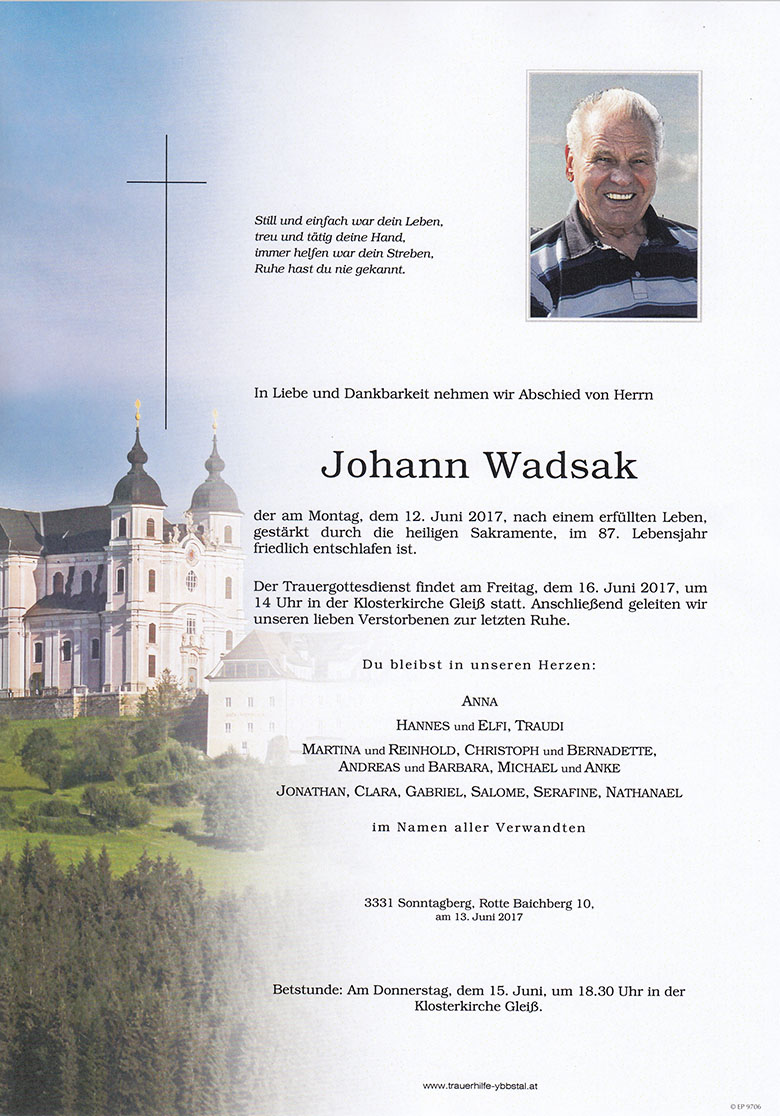 Parte Johann Wadsak