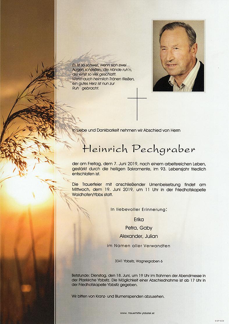 Parte Heinrich Pechgraber