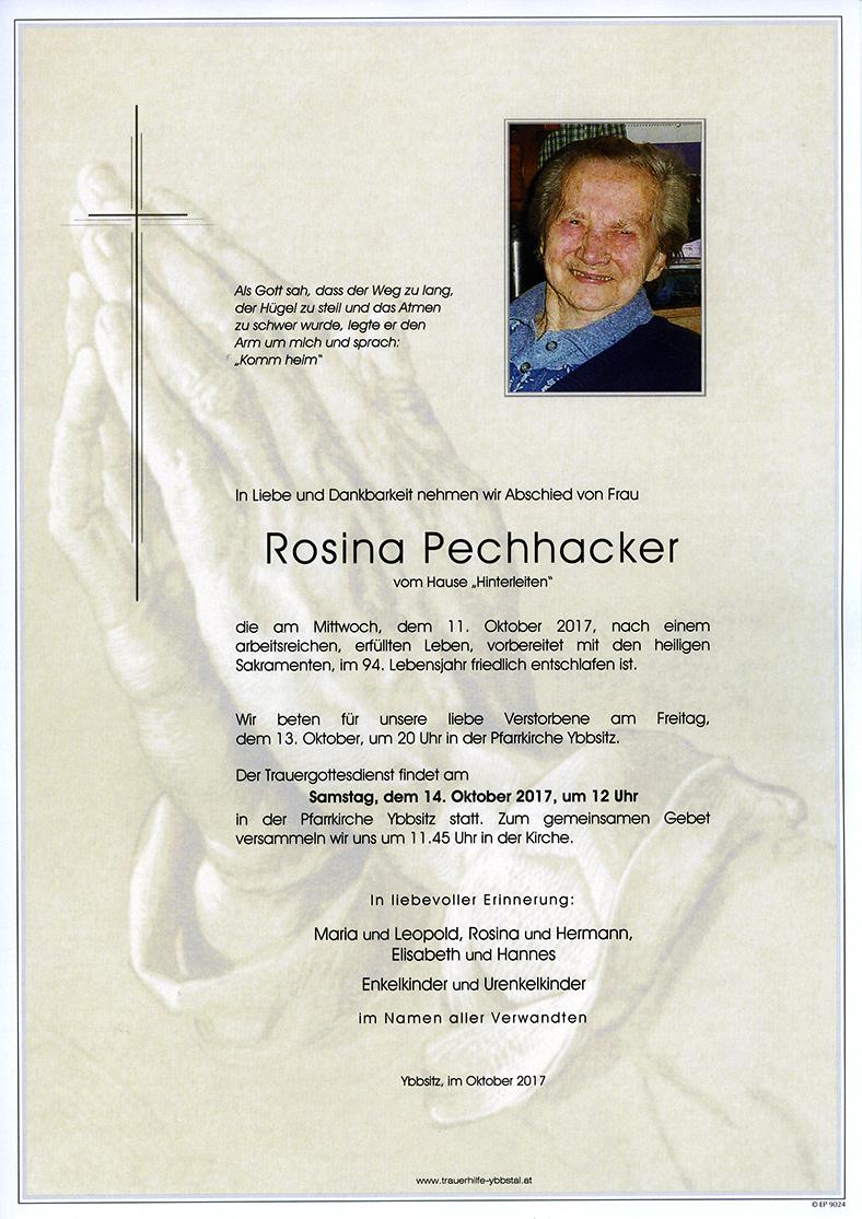 Parte Rosina Pechhacker