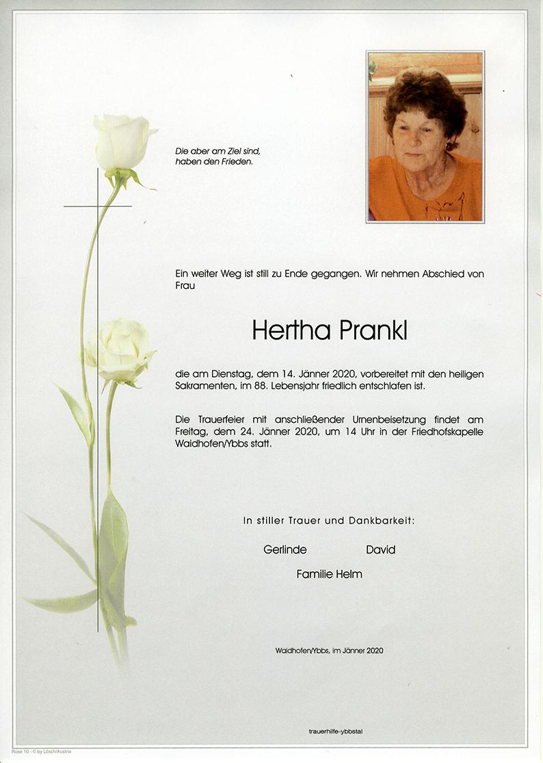 Parte Hertha Prankl