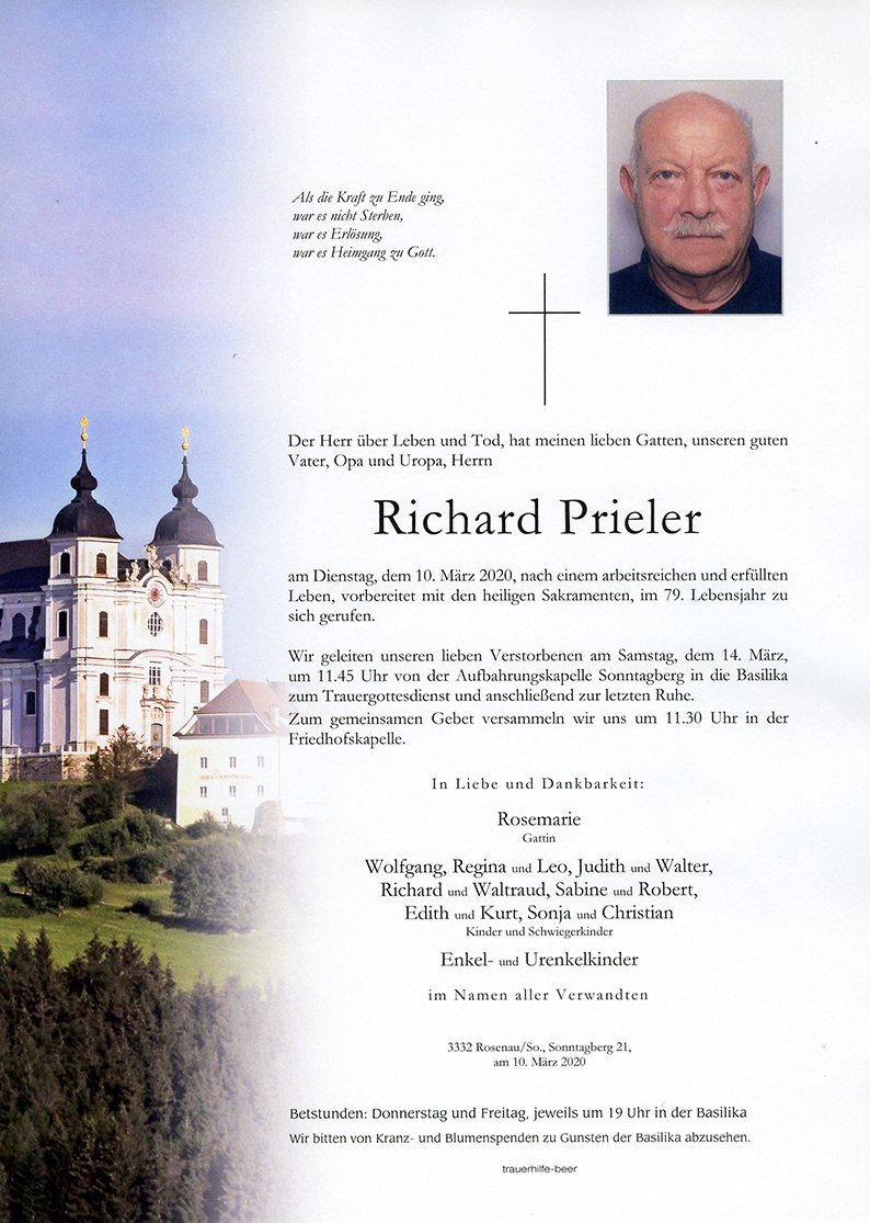 Parte Richard Prieler