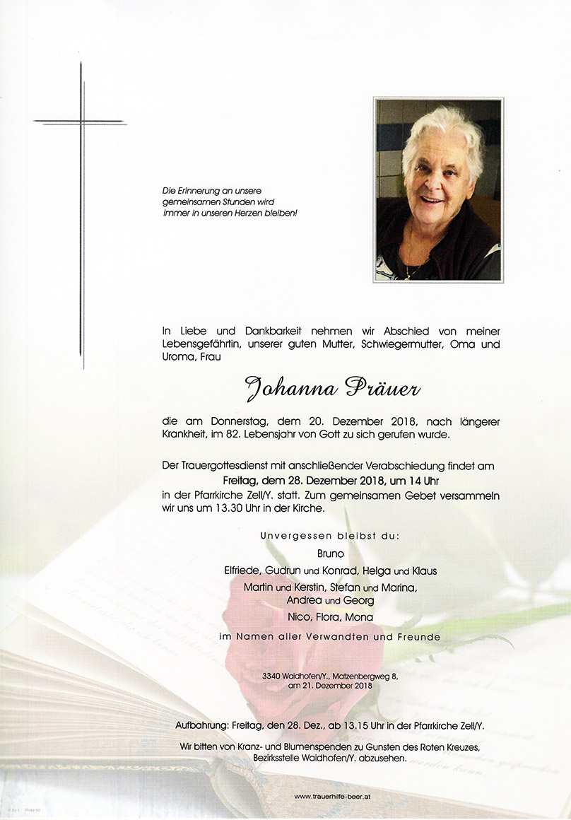 Parte Johanna Präuer