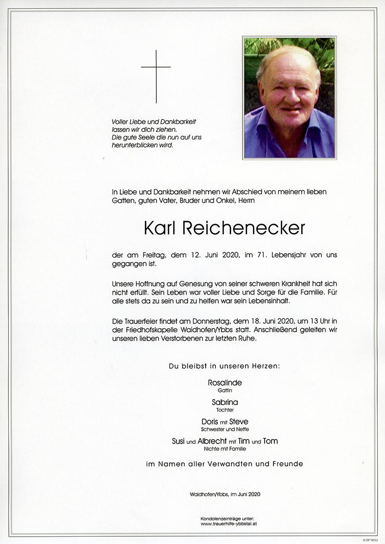 Parte Karl Reichenecker