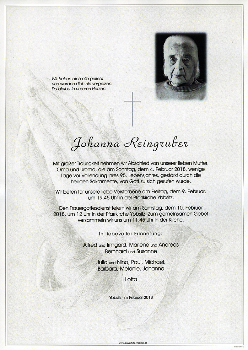 Parte Johanna Reingruber